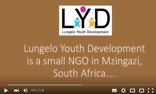Lungelo Youth Development Explain the Sanitation Situation