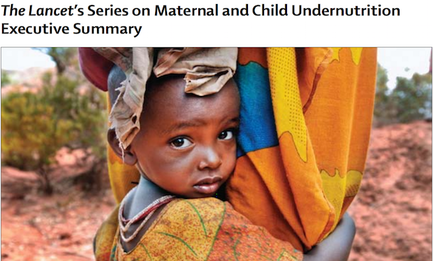 The Lancet's Series on Maternal and Child Undernutrition