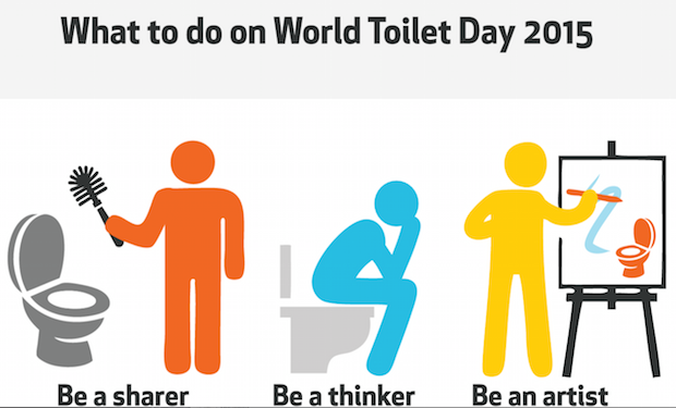 Student Infographic: What you can do this World Toilet Day
