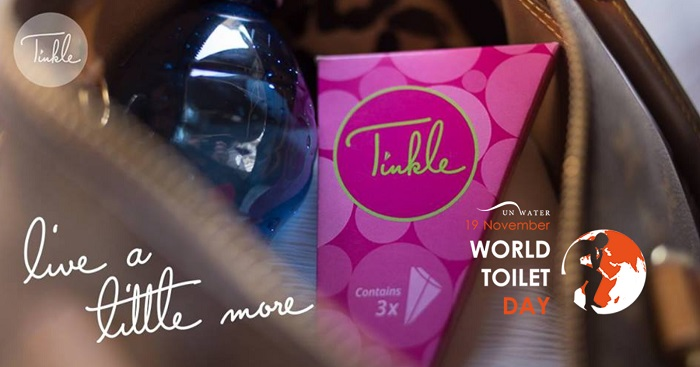 Tinkle World Toilet Day Campaign